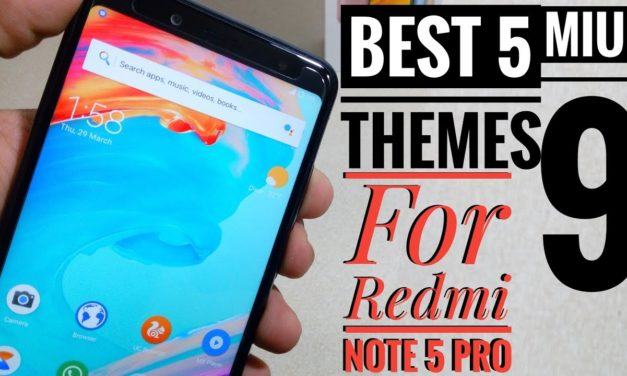 Top 5 Best Miui 9 or 10 Theme for Redmi Note 5 Pro or Redmi Note 4 | One +5T Styles