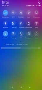 Samsung Theme Notification Bar By TechRushi